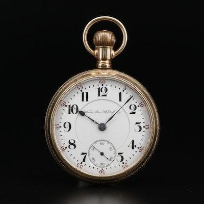 1900 Hamilton Gold Filled Pocket Watch