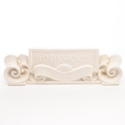 Rookwood Pottery Limited Edition Commemorative Retail Display Sign, 2000
