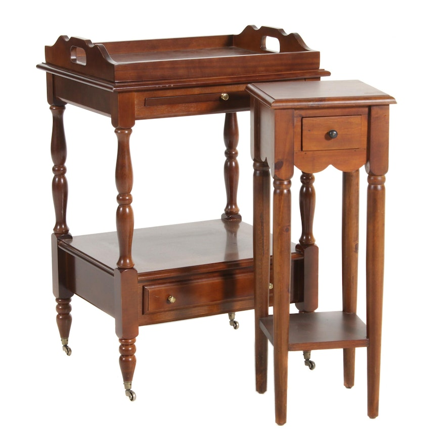 Pier 1 Imports Accent Table and Tray Table