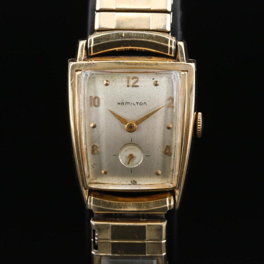 "1959 Hamilton ""Kyber"" Stem Wind Wristwatch"