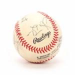 "Dave Winfield, Bert Blyleven, Jim ""Mudcat"" Grant, More Signed Rawlings Baseball"