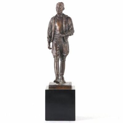 "Bronze Sculpture after Lawrence Ludtke ""The Spirit of Ronald Reagan"""