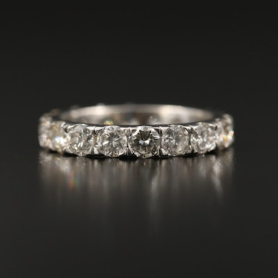 Platinum 2.51 CTW Diamond Eternity Band