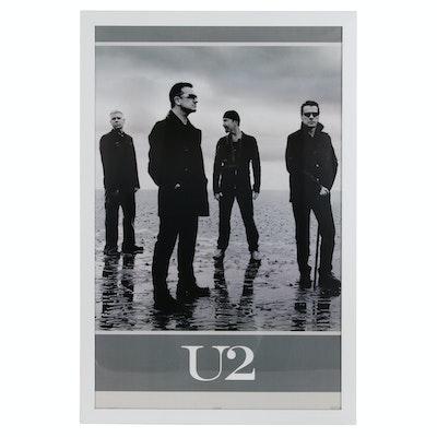 U2 Framed Poster