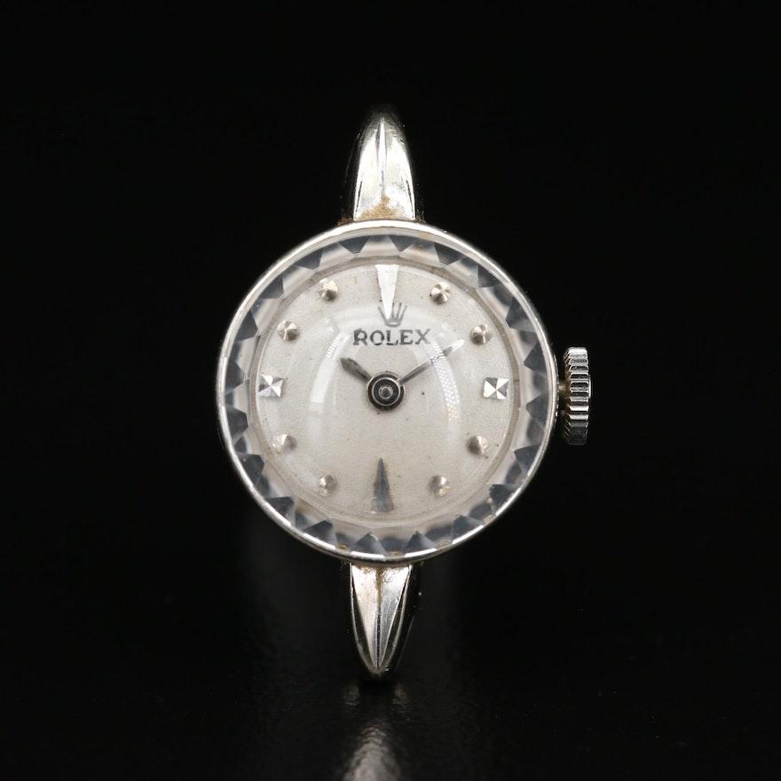 Vintage 14K Gold Rolex Stem Wind Watch