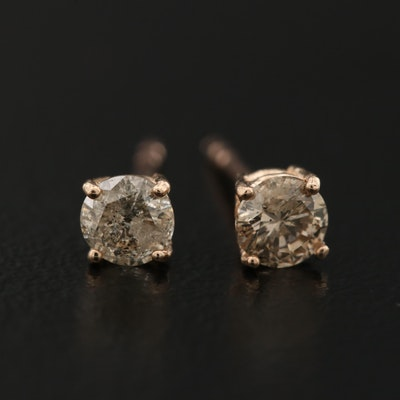 14K 0.36 CTW Diamond Stud Earrings