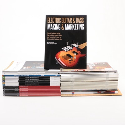 """Guitar, Music, and Hobby Magazines Including """"The Fretboard Journal"""""""
