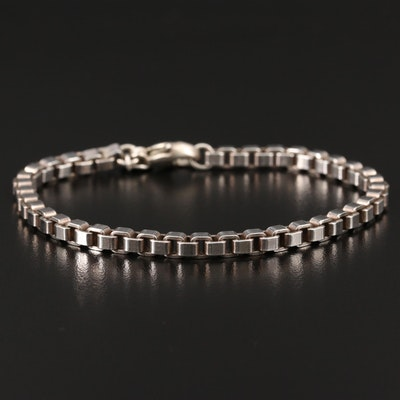 Tiffany & Co. Sterling Silver Venetian Link Bracelet