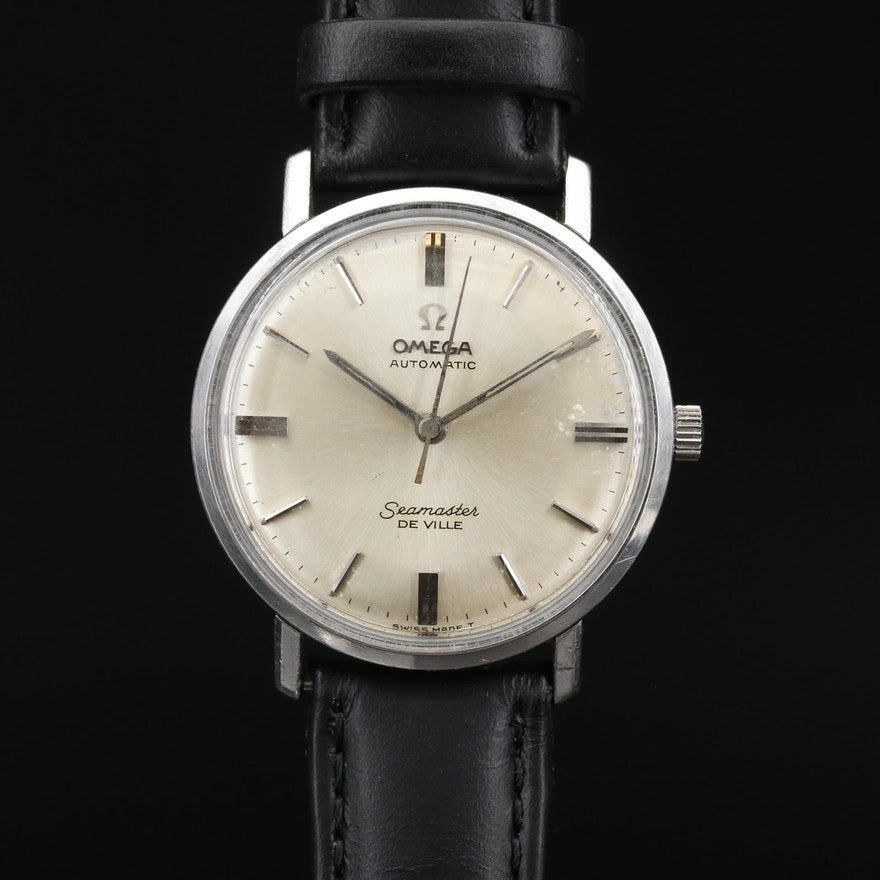 1964 Omega Seamaster DeVille Stainless Steel Automatic Wristwatch