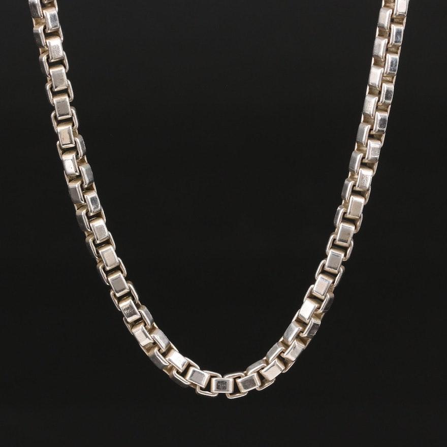 Tiffany & Co. Sterling Silver Venetian Link Necklace