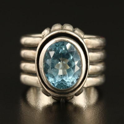 Silpada Sterling Topaz Ring