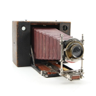 Eastman Kodak Large Format Folding Camera, Late 19th to Early 20th C.