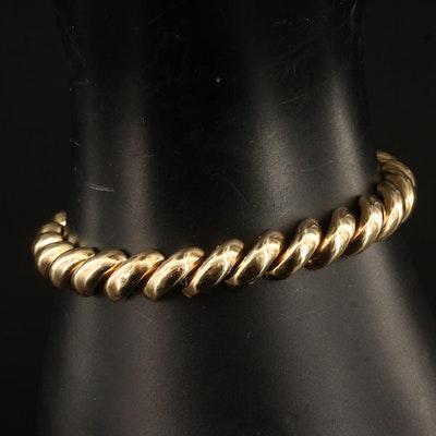 10K San Marco Chain Bracelet