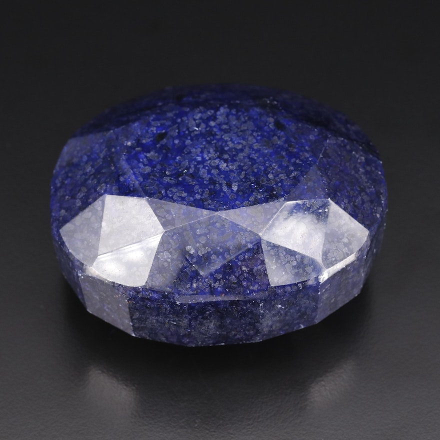 Loose Oval Faceted Lazulite