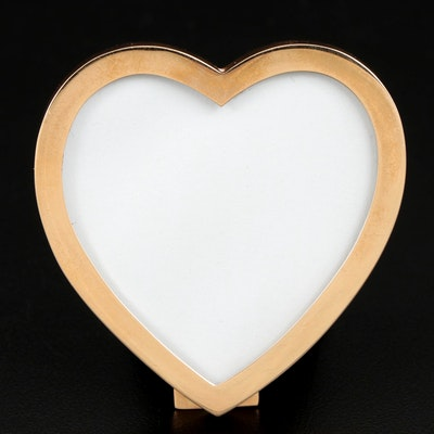 Tiffany & Co. 14K Gold Heart Shaped Frame