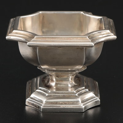 Lionel A. Crichton Sterling Silver Footed Dish, 20th Century