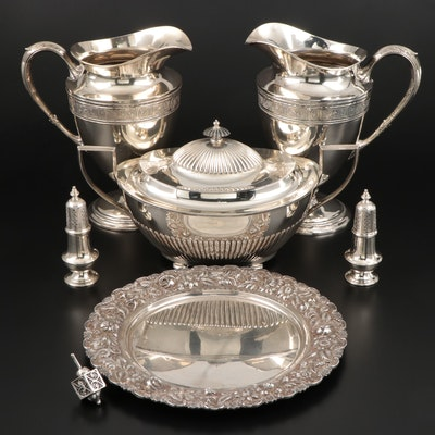 Gorham, Kirk-Stieff, and International Silver Co. Sterling Silver Serveware