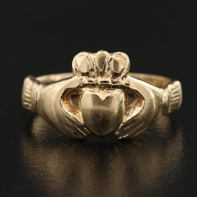 14K Claddagh Ring
