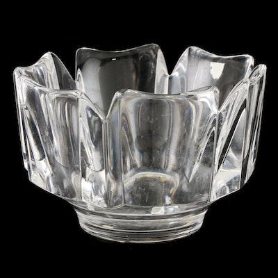 "Orrefors ""Corona"" Crystal Centerpiece Bowl"