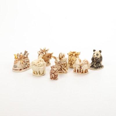 "Harmony Kingdom ""Bamboozled"" and Other Animal Themed Boxes"