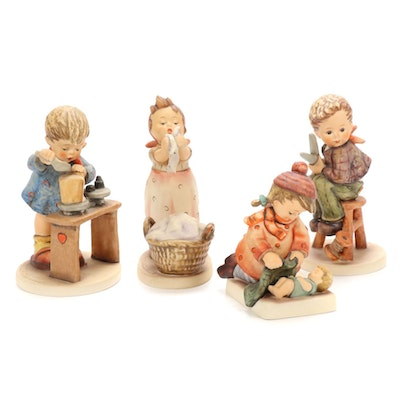 "Goebel ""Sleep Tight"" and Other Porcelain Hummel Figurines, 1979–1981"