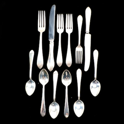 Sterling Silver Flatware Including Dominick & Haff and Reed & Barton