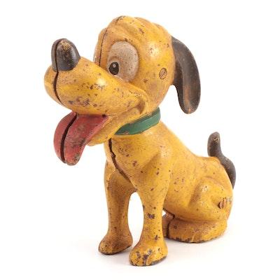 "Cast Iron ""Pluto Pup"" Still Bank"