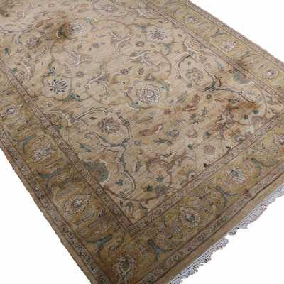 6'2 x 9'4 Hand-Knotted Indo-Persian Tabriz Rug