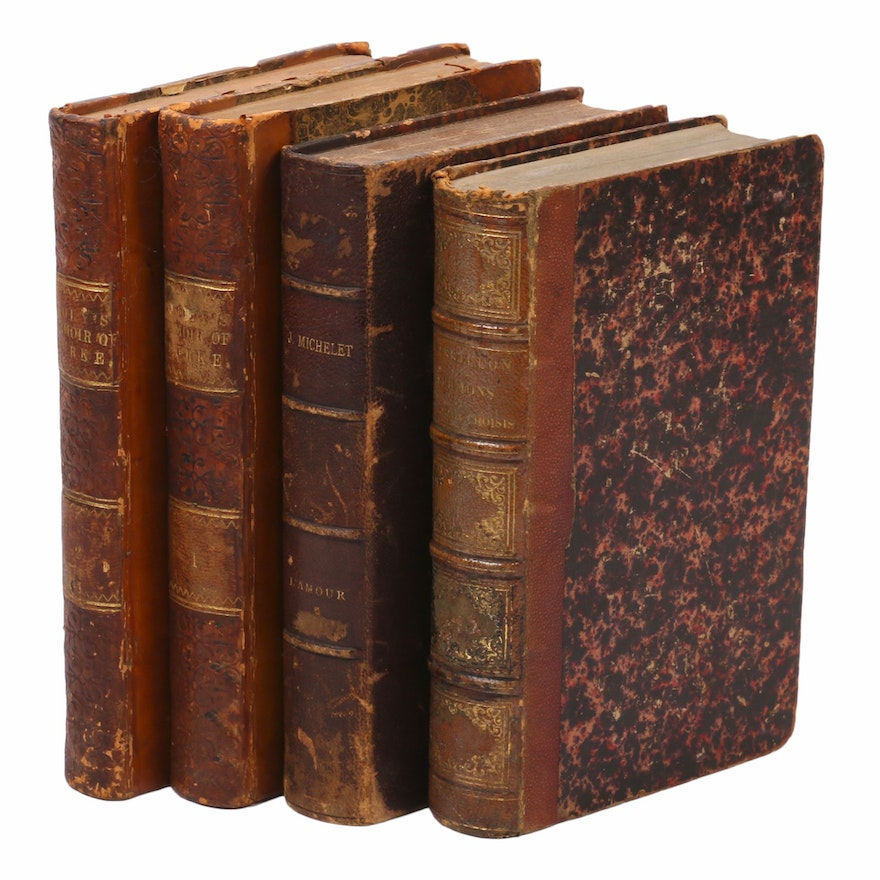 """""""A Memoir of the Political Life of Edmund Burke"""" and Books in French, 1840–1859"""