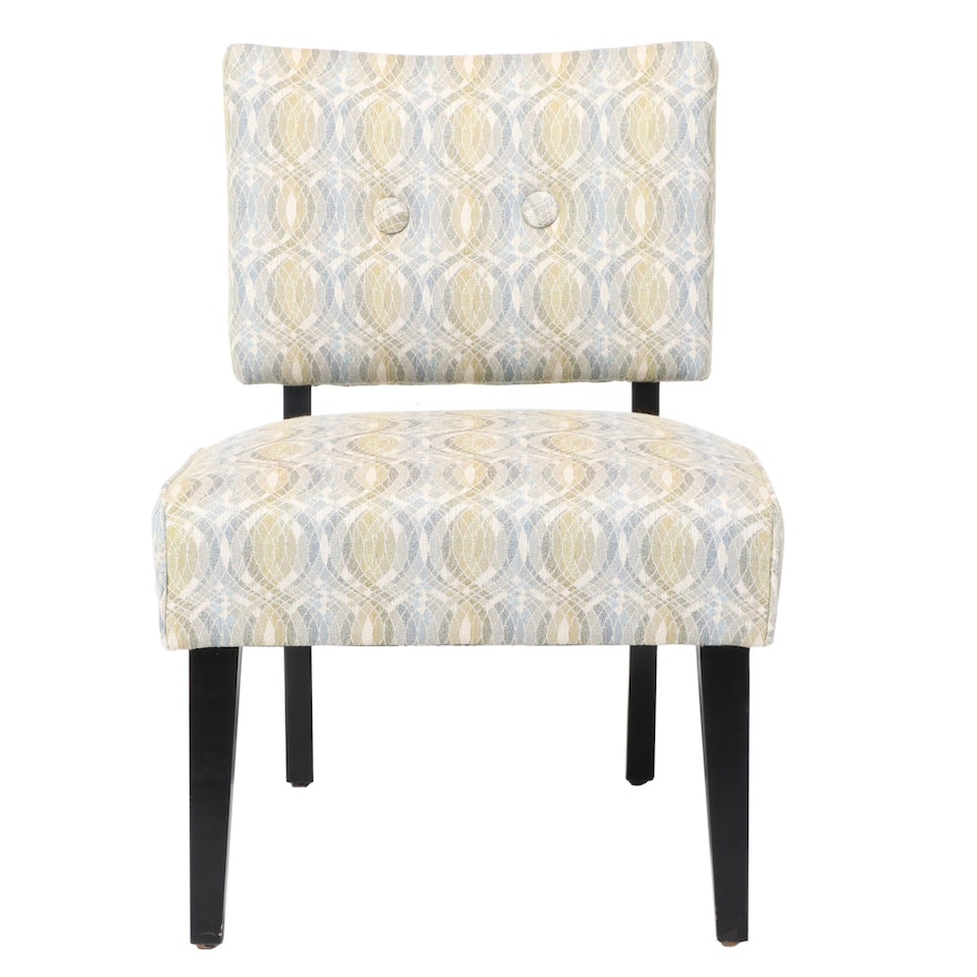 Crate & Barrel Contemporary Upholstered Side Chair