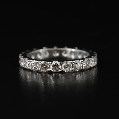 Platinum 1.80 CTW Eternity Band