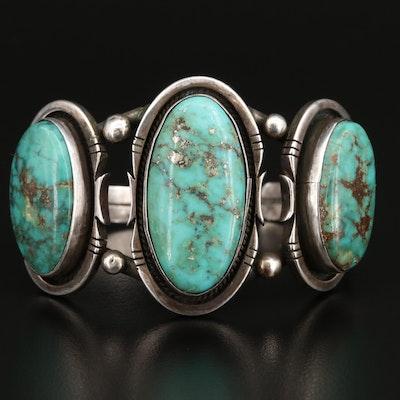 Southwestern Style Turquoise Cuff