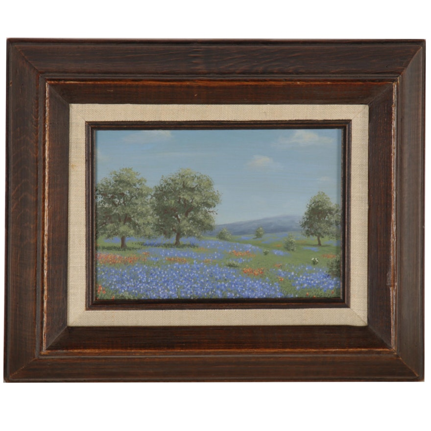 Royce Roberts Landscape Oil Painting, 20th Century
