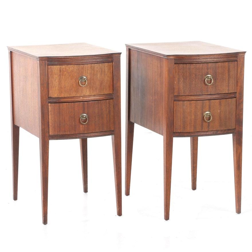 Wabash Hepplewhite Style Side Tables