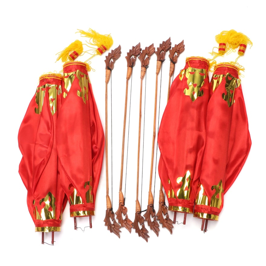 Chinese New Year Lanterns and Decorations
