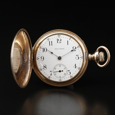 1906 Waltham Gold Filled Pocket Watch