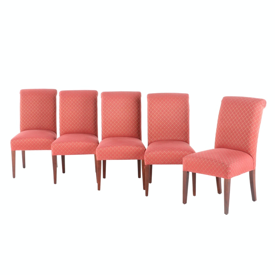 Baker Furniture Contemporary Upholstered Side Chairs