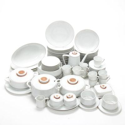 """Scherzer """"Étude"""" Mid Century Modern Porcelain Dinnerware, Vintage"""