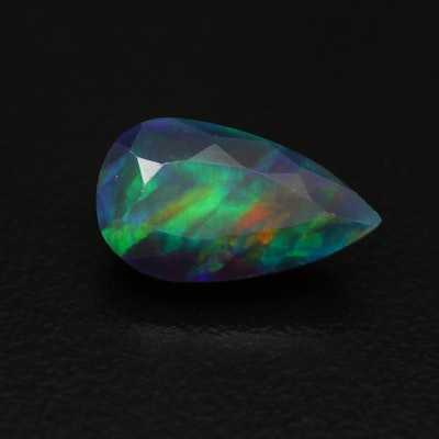 Loose 2.91 CT Pear Faceted Opal