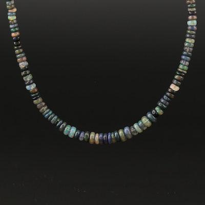 Graduated Opal Necklace