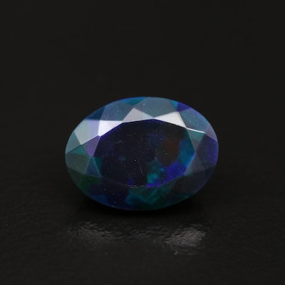 Loose 1.82 CT Oval Faceted Opal