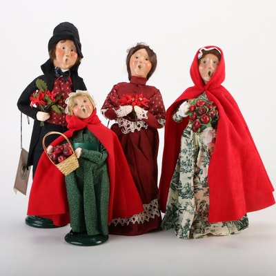 Byers' Choice Historic Charleston Foundation Christmas Caroler Figurines, 2000s