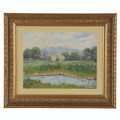 Country Landscape Oil Painting