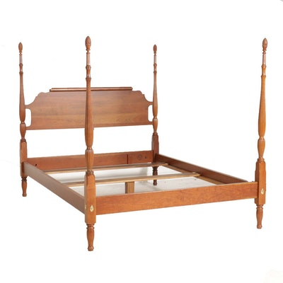 Waterford Furniture Federal Style Cherry Queen Size Four-Poster Bed