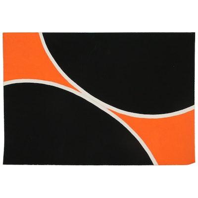 Geometric Abstract Acrylic Painting