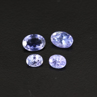 Loose 2.30 CTW Faceted Tanzanites and Iolites