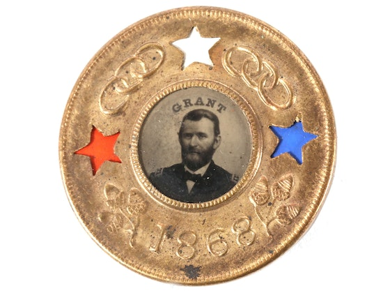 Featured Estate: Baker Family Political Pinback Collection