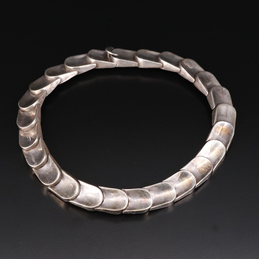Vintage Mexican Sterling Collar