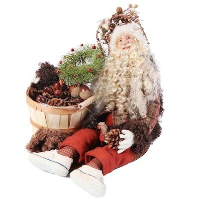 Make Market Rustic Tabletop Santa