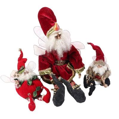 Mark Roberts Santa Fairies and Tabletop Santa